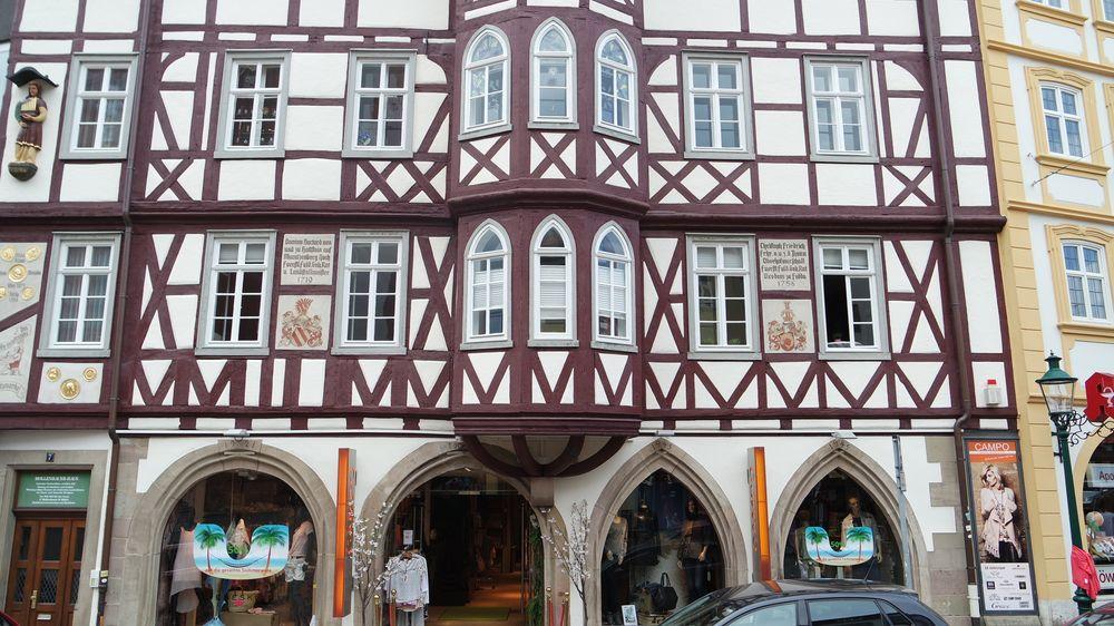 Fulda, Mollenhauerhaus, Fassadenansicht