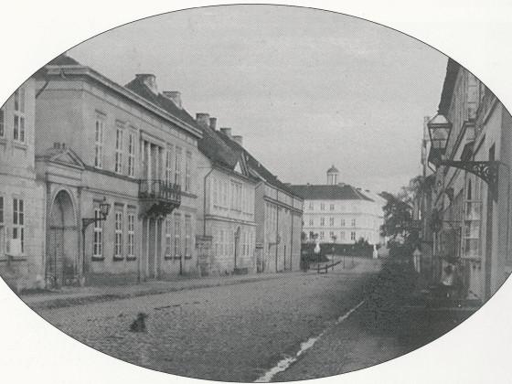 Neustrelitz Schloßstraße 1900