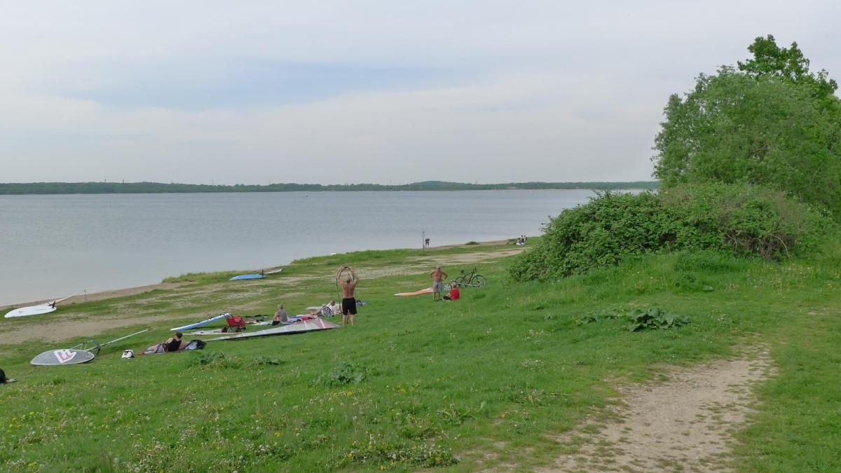 Cospudener See bei Leipzig