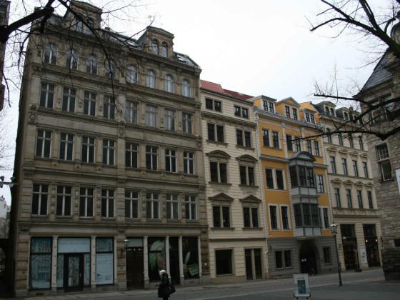 Leipzig-Altstadt Thomaskirchhof 13-14 vorher Gesamt