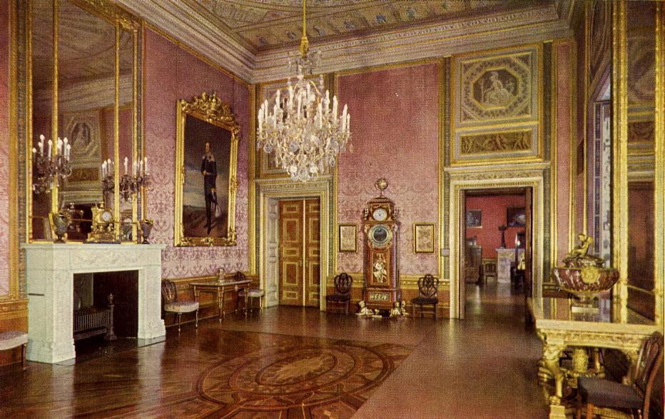 Schloss Berlin Königszimmer  rotes Zimmer