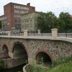 Leipzig Karl-Heine-Straße König-Albert-Brücke neu gebaut