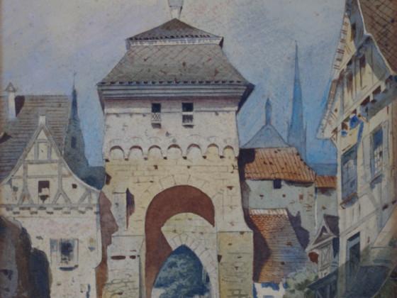 Torturm Kloster Maulbronn, 1885