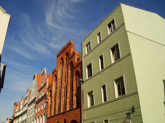 Stralsund Frankenstrasse Neubauten 2017