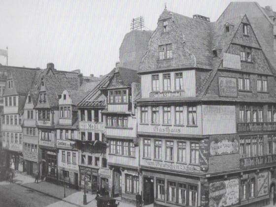 Ecke Neue Zeil - Große Friedberger Straße