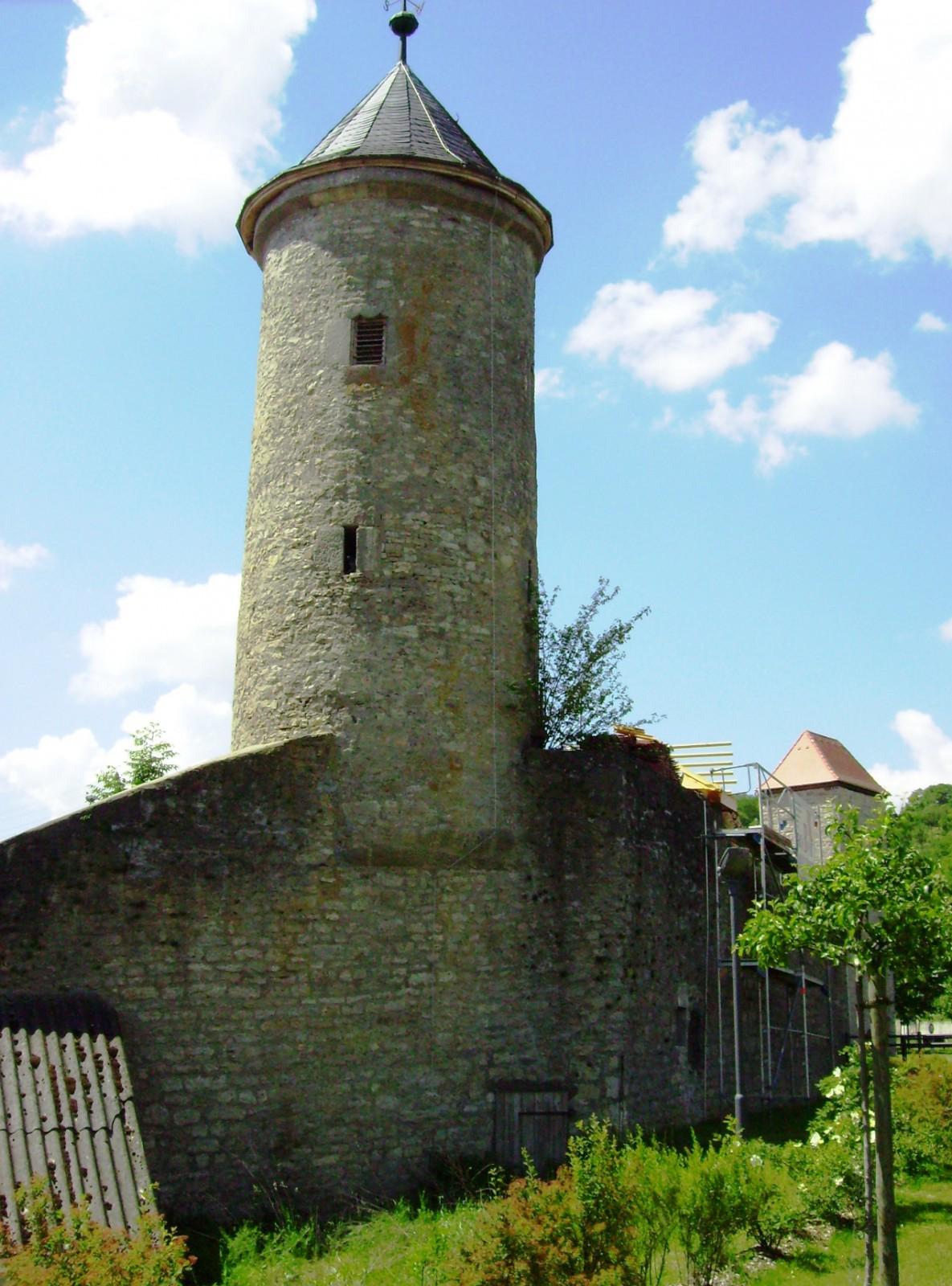 Schneckenturm - Wehrturm des 14./15. Jahrhunderts