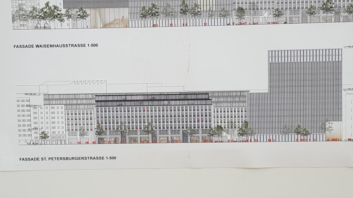 Ferdinandplatz Entwürfe