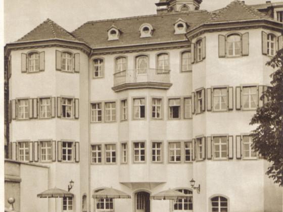 Narrenhäusel, Dresden, vor dem Krieg