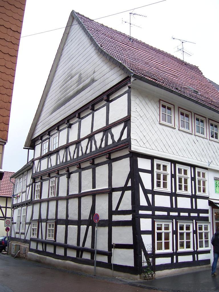 Walburger Straße Ecke Obere Mühlstraße um 1500