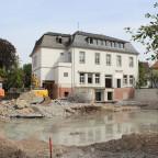 Abrissarbeiten am ehemaligen Kolpinghaus in Soest
