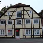Fachwerkhaus Thomästraße, Ecke Lütgen Grandweg