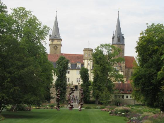 Schloss und Stiftskirche Öhringen am 18. Aug. 2016