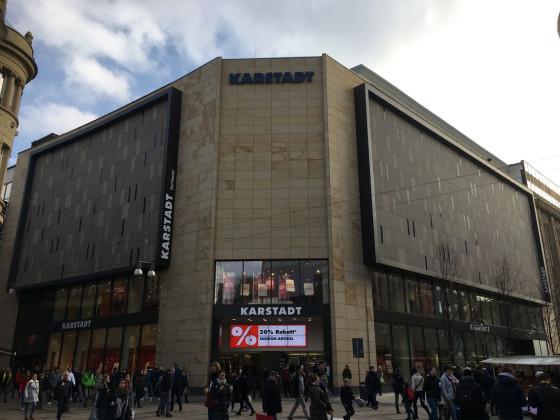 Karstadt - Schauseite zum Westenhellweg