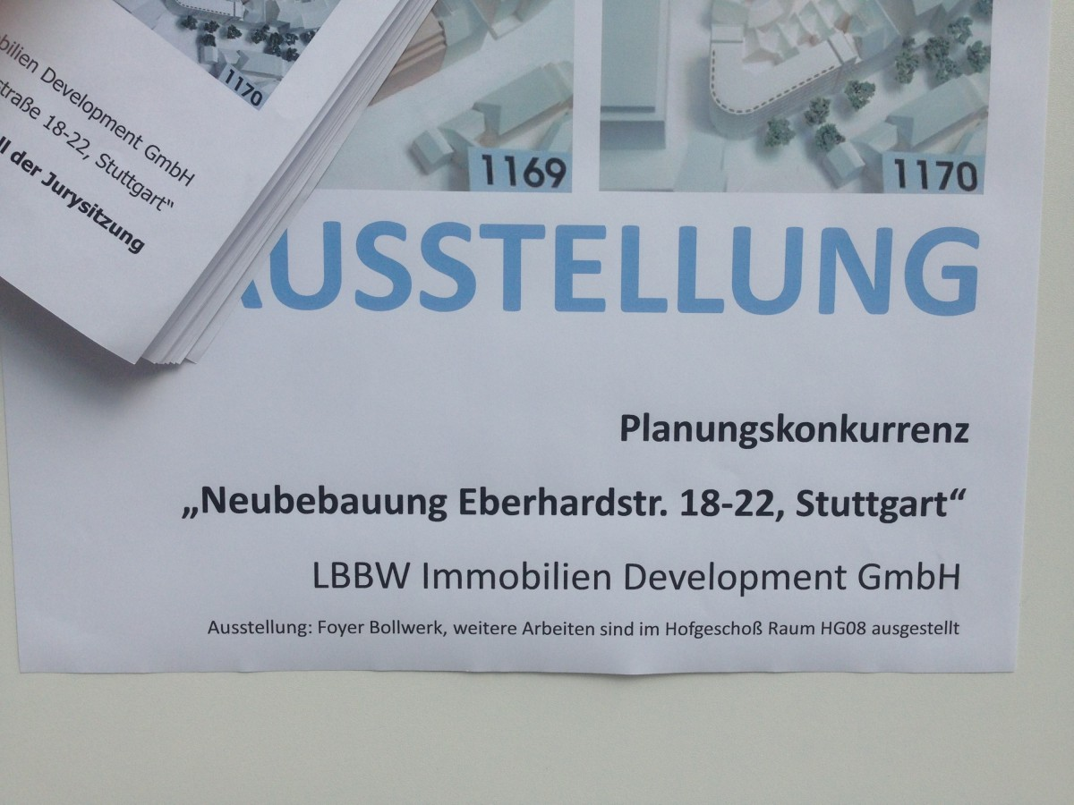 Neubebauung Eberhardstraße 18-22, Stuttgart