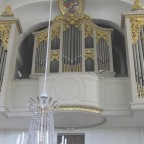 Orgel der Pfarrkirche Lahm/Itzgrund ( 1732 Herbst/Halberstadt )