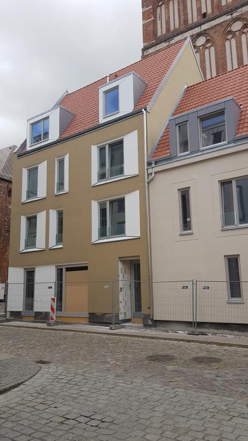 Stralsund St. Nikolai Neubauten Badenstraße