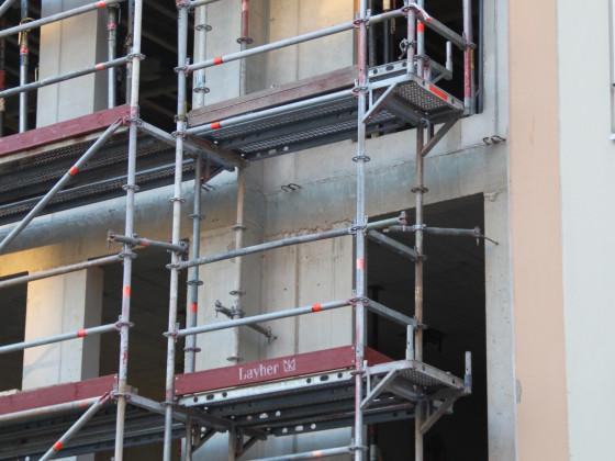Köln Alter Markt Rotes Haus Baufortschritt