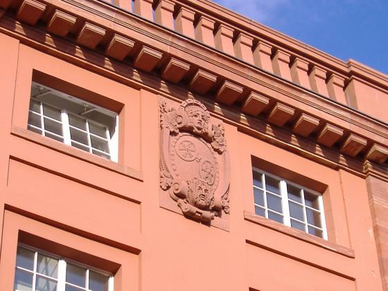Theater Mainz 1910 Theater Mainz 1910 Allegorie der Stadt, Detail
