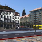 Pirnaischer Platz Richtung Rathaus