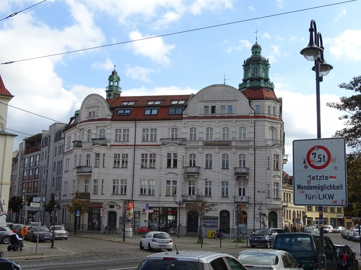 Altstadt Köpenick Okt 2020