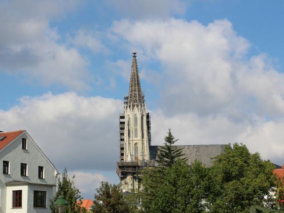 Blick auf die Wiesenkirche