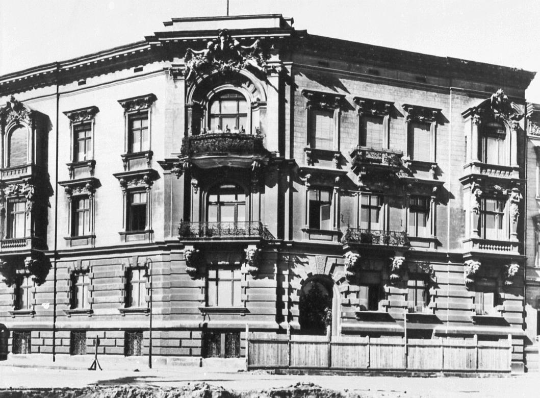 Platz der Republik,Königsplatz, Roonstraße