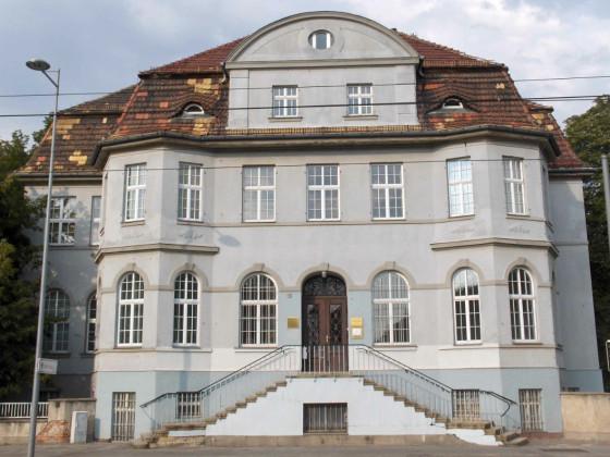 Leipzig-Probstheida Prager Straße gegenüber Südfriedhof vorher