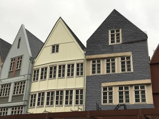 Alternative Krönungsweg/ Markt - Gebäude mit Versprossung