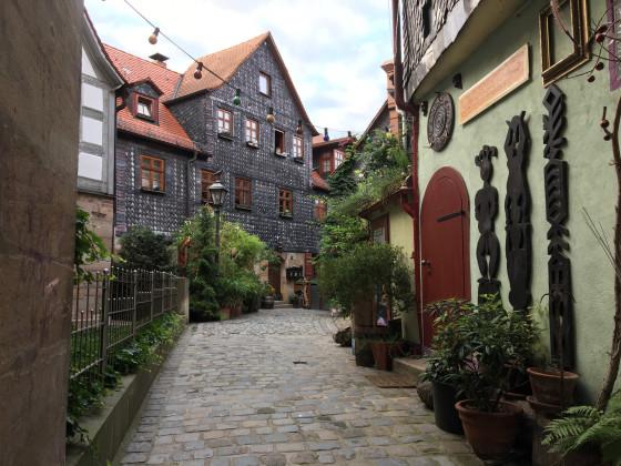 Gasse in der Fürther Altstadt