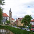 Blick von Helenenstraße zur Stadtkirche