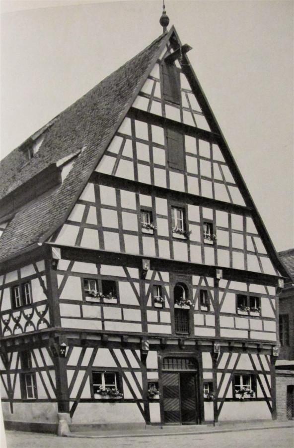 """Bad Windsheim  Seegasse 27, """"Ochsenhof"""""""