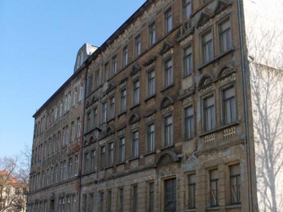 Leipzig-Connewitz Scheffelstr 36+38 vorher