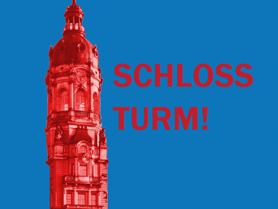 Schlossturm Neustrelitz Schloss Initiative Logo-Variante