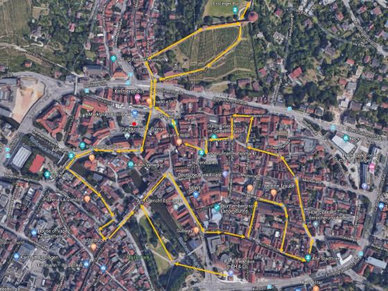 Esslingen Route