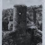Stadtmauerpartie Ansichtskarte ca. 100 Jahre (Schneckenturm ohne Dach)
