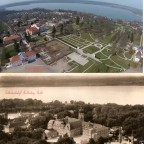 Schloss Neustrelitz Bildvergleich Luftbild Zierker See Stadtbild MST