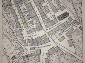 Lageplan Wirtshäuser Schömberg