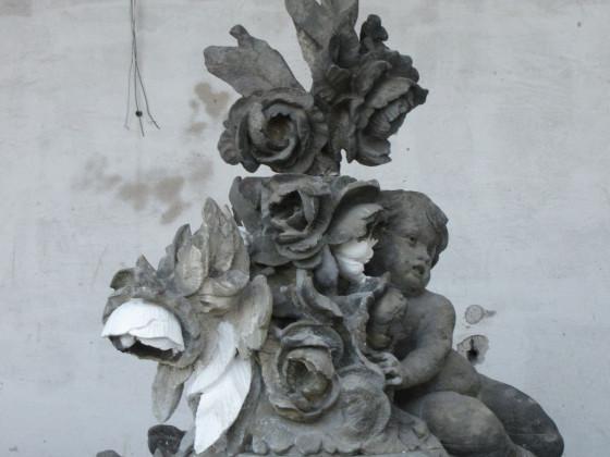 Statuen fuers Neue Palais