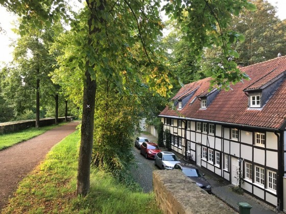Blick vom Wall - Soest