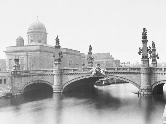 Kaiser Wilhelm Brücke 1892, alter Dom