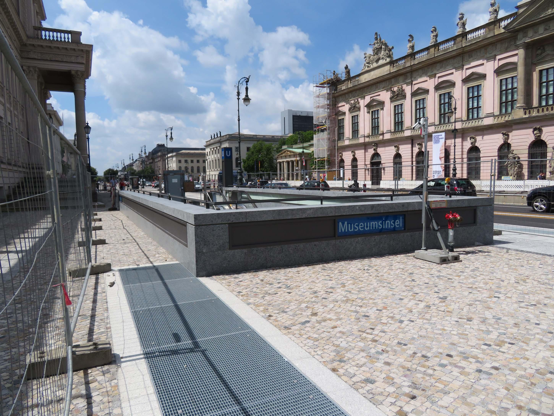 Berlin - Bau der U5