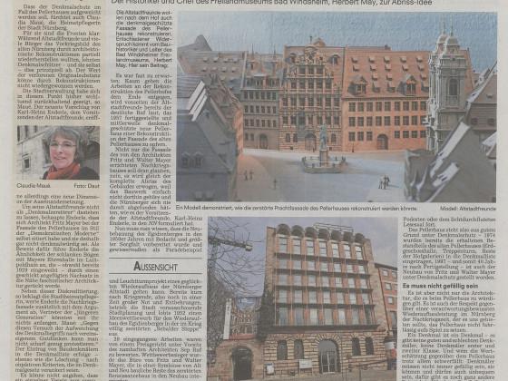 Zeitungsartikel Pellerhaus