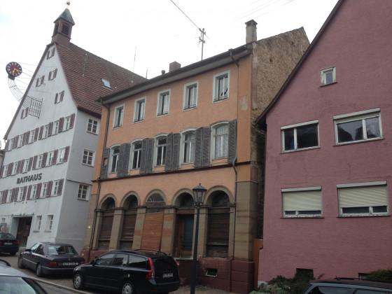 Häuserzeile Alte Hauptstraße