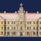 Schloss Neustrelitz Barock-Rokoko-Fassade von 1755