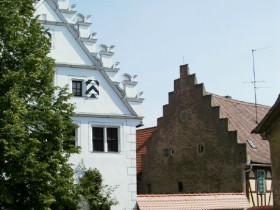 Häusergiebel in Sulzfeld