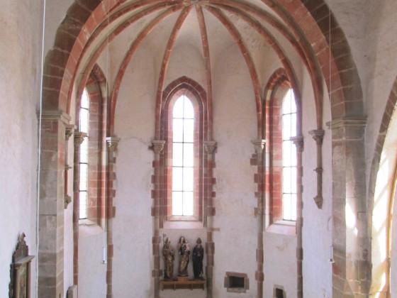 Chor des ehemaligen Zisterzienserinnenklosters Frauenthal
