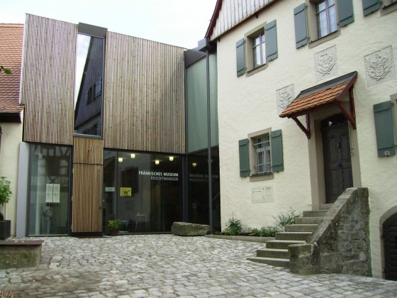 Eingangsbereich des Museums