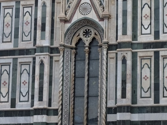 Florenz Domfassade Detail