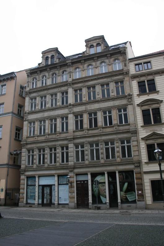 Leipzig-Altstadt Thomaskirchhof 13-14 vorher