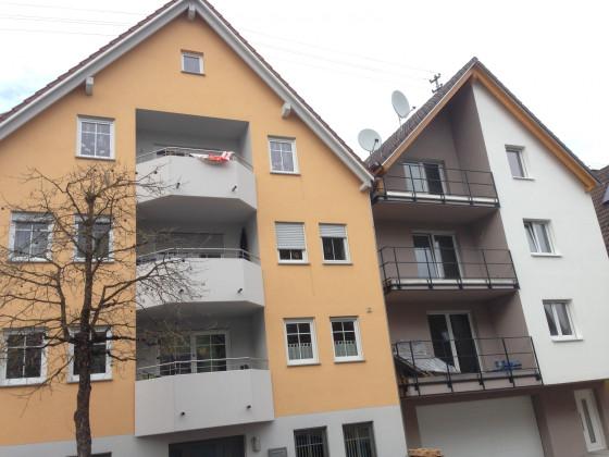 Neubauten untere Alte Hauptstraße